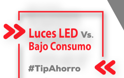 Luces LED vs. bajo consumo