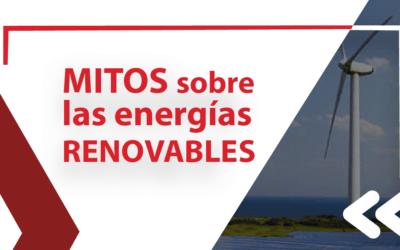 Mitos sobre las energías renovables